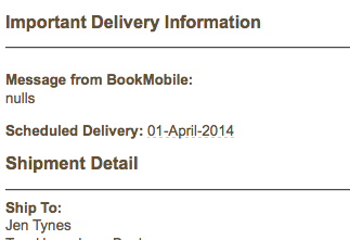 Pattie McCarthy's NULLS has shipped!